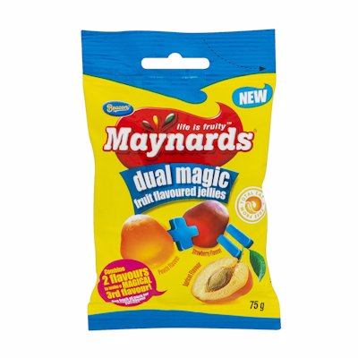 MAYNARDS JELLIES DUAL MAG 75GR