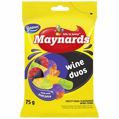 MAYNARDS WINE GUMS DUOS 75GR