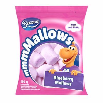 BEACON BLUEBERRY MALLOWS 150GR