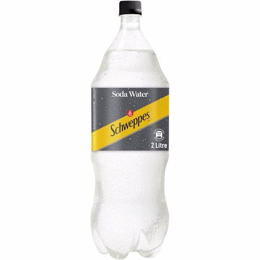 SCHWEPPES SODA WATER 2LT