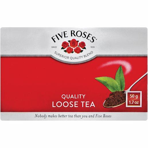 FIVE ROSES LEAF TEA 50GR