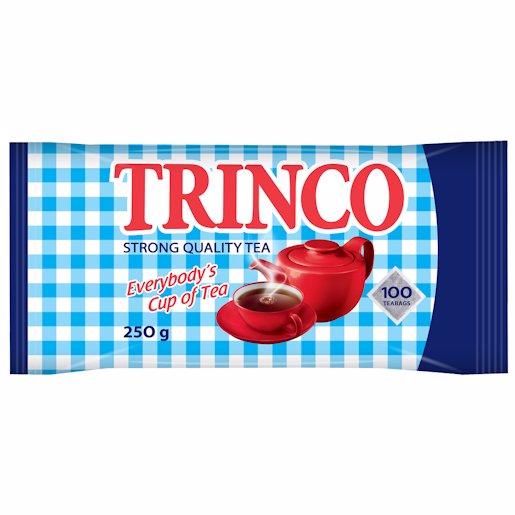 TRINCO T/LESS TEABAGS PCH 100'S