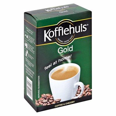 KOFFIEHUIS GOLD COFFEE & CHICORY NIXTURE 500G