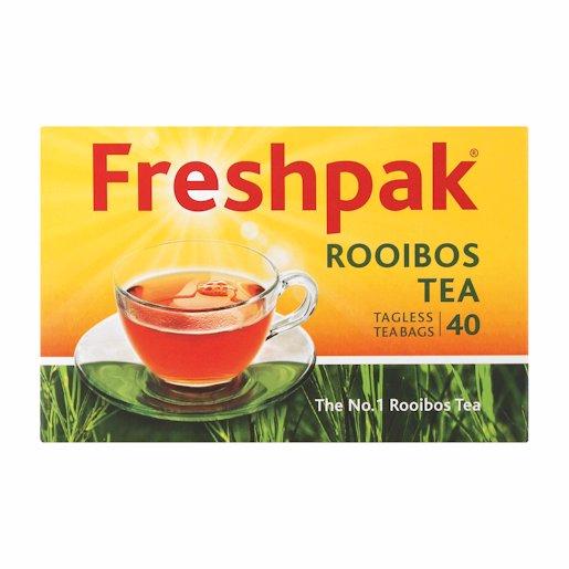 FRESHPAK TAGLESS TEABAGS 40'S