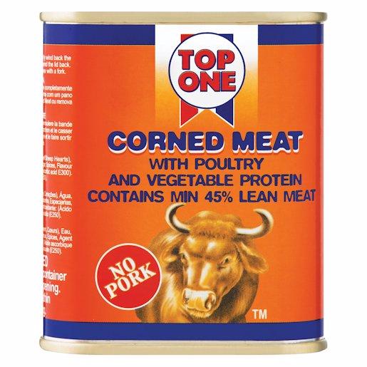 TOP ONE CORNED MEAT 300GR