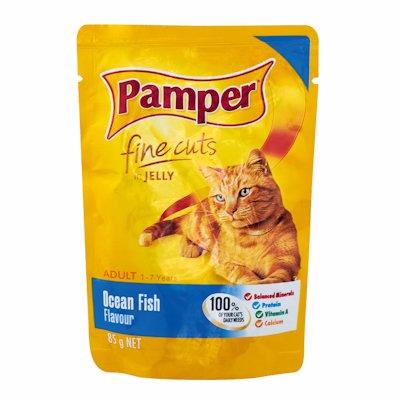 PAMPER CUTS OCEAN FISH 85G