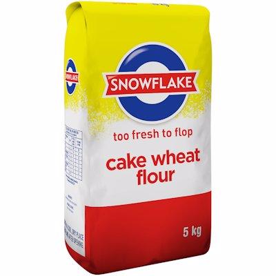 SNOWFLAKE CAKE FLOUR 5KG