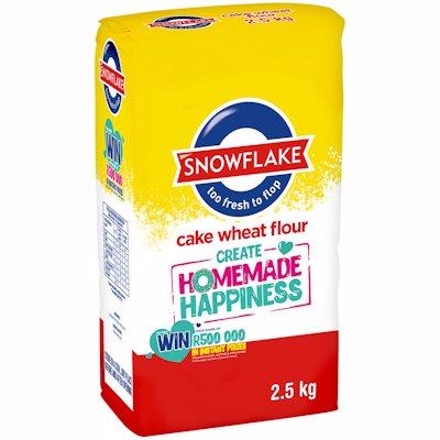 SNOWFLAKE CAKE FLOUR PA 2.5KG