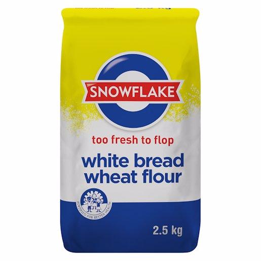 S/FLAKE WHITE BREAD FLOUR 2.5KG