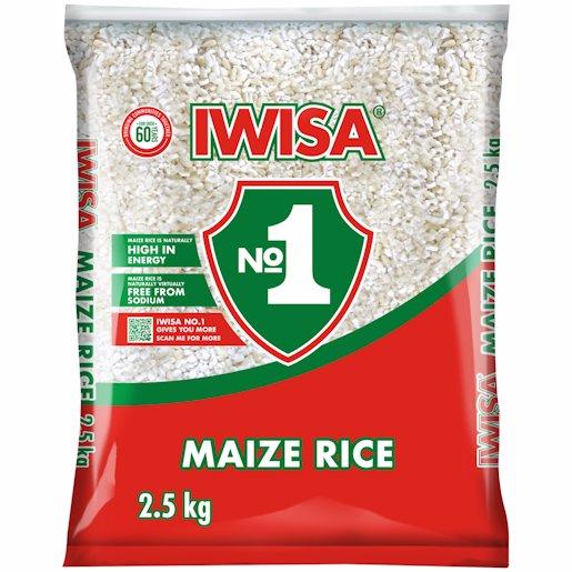 IWISA MAIZE RICE 2.5KG