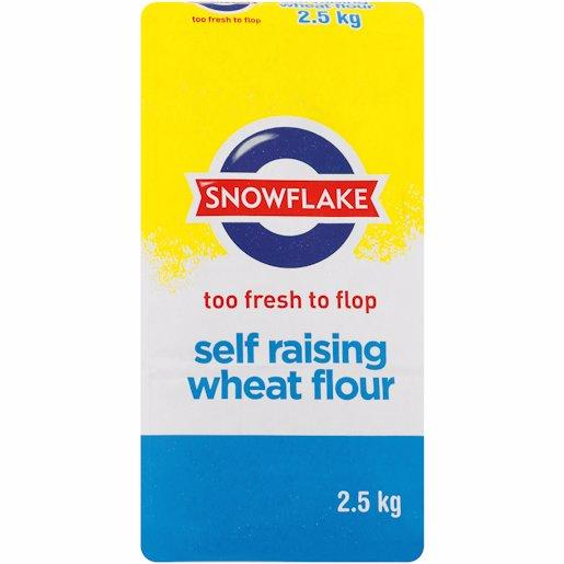 SNOWFLAKE S/RAISING FLOUR 2.5KG