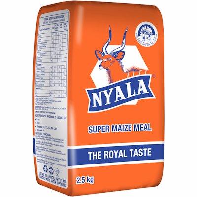 NYALA SUPER MAIZE MEAL PA 2.5KG