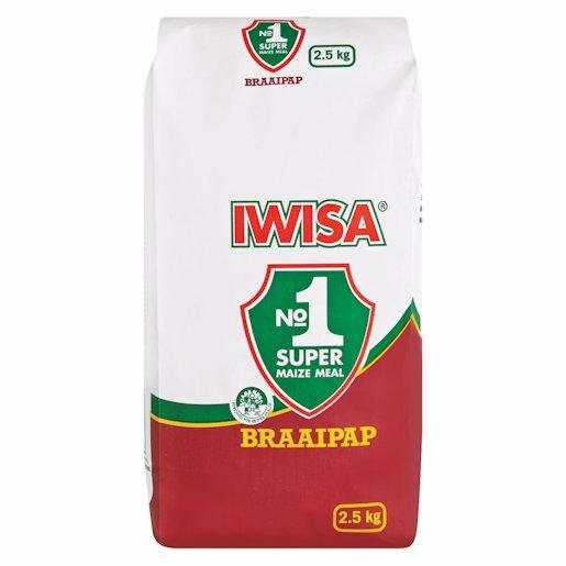 IWISA BRAAI PAP 2.5KG