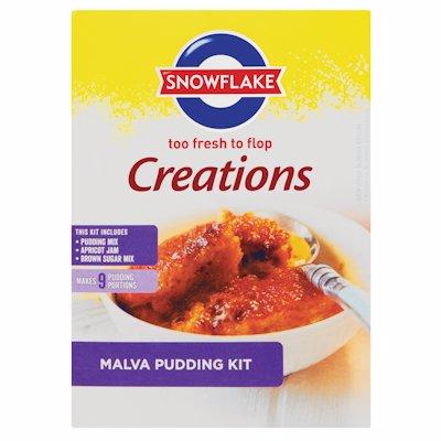 SNOWFLAKE CREATIONS MALVA PUDDING MIX 400G