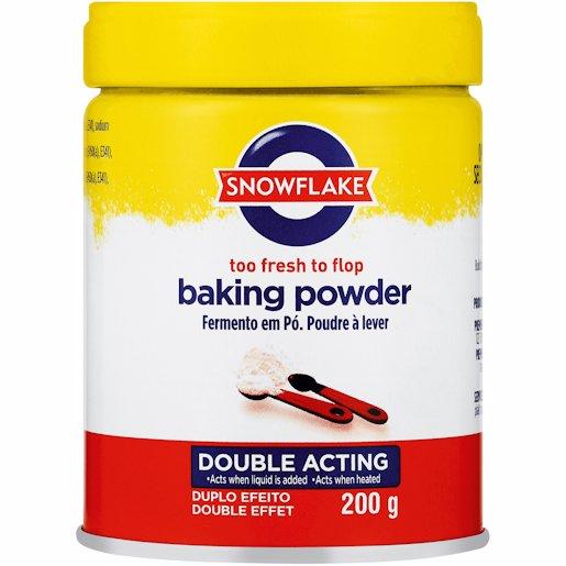 S/FLAKE BAKING POWDER 200GR
