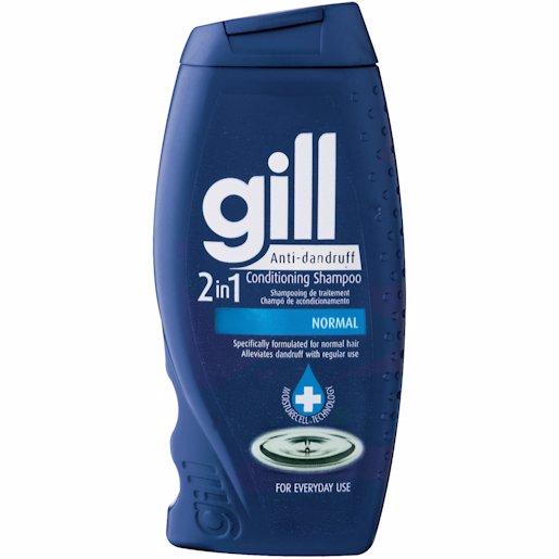 GILL A/DAND 2IN1 SHMP NORMAL 200ML