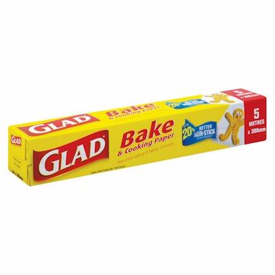 GLAD BAKE & COOKING PAPER 5M