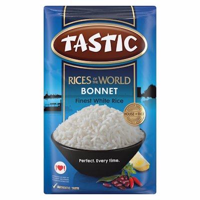 TASTIC BONNET WHITE RICE 1KG