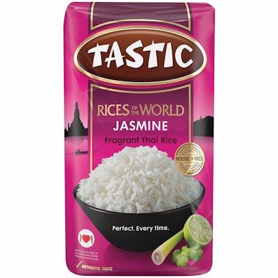TASTIC JASMINE FRAGRANT THAI RICE 1KG