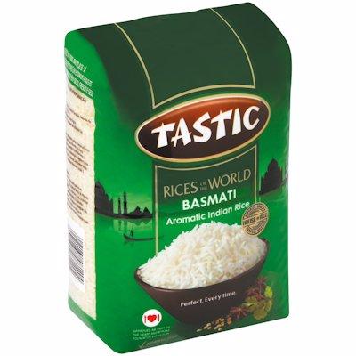 TASTIC BASMATI AROMATIC INDIAN RICE 2KG