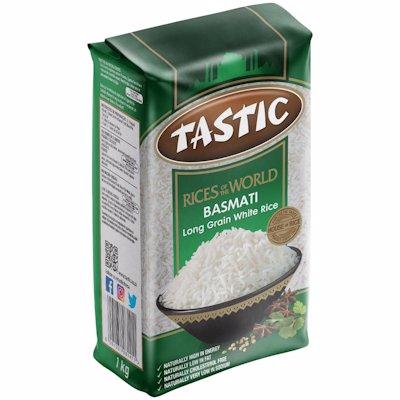 TASTIC BASMATI RICE 1KG
