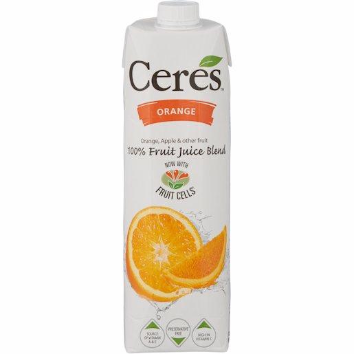 CERES FRUIT ORANGE 1L