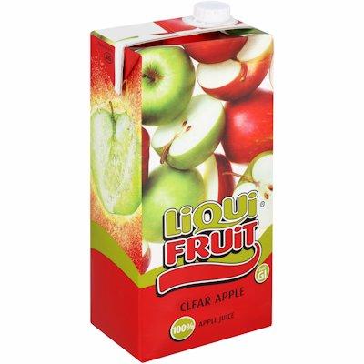 LIQUI FRUIT CLEAR APPLE 2LTR