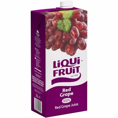 LIQUI FRUIT RED GRAPE 2LTR
