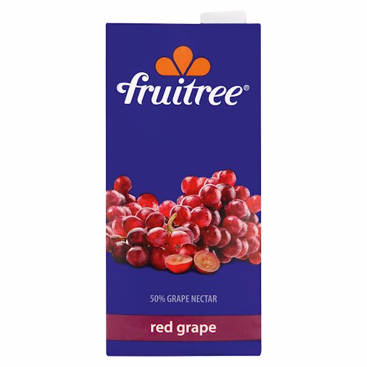 FRUITREE RED GRAPE 1L
