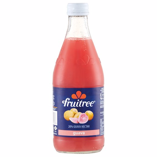 FRUITREE GUAVA (GLASS) 350ML