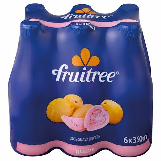 FRUITREE GUAVA 20% 350ML 6PK