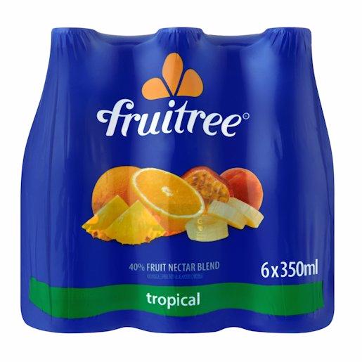 FRUITREE TROPI/PNCH 40% 350ML 6PK