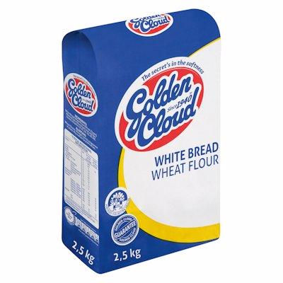 G/CLOUD WHITE BREAD FLOUR 2.5KG