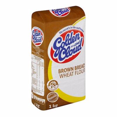GOLDEN CLOUD BROWN BREAD WHEAT FLOUR 1KG