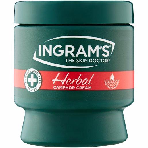 INGRAMS CAMPHOR CREAM HERB 150GR