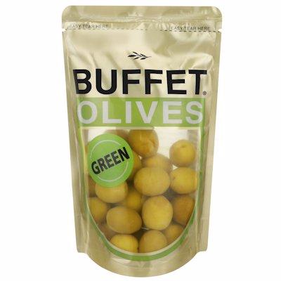 BUFFET OLIVES GREEN 200G