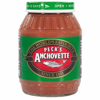 PECKS ANCHOVETTE JAR 225GR