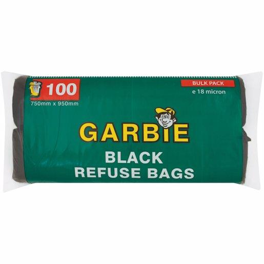 GARBIE REFUSE BAG ON ROLL 100's