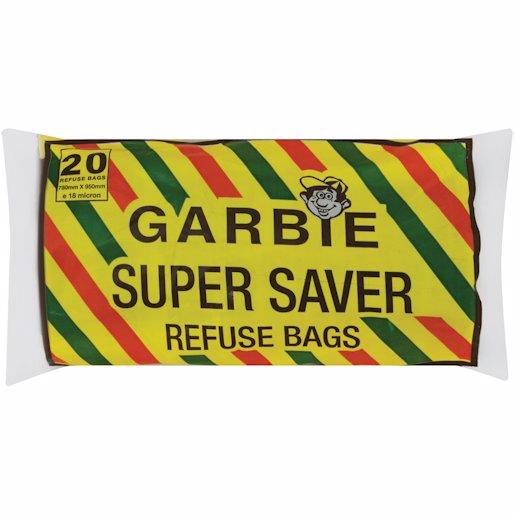 GARBIE BAG SUPR SAVE ROLL 20'S