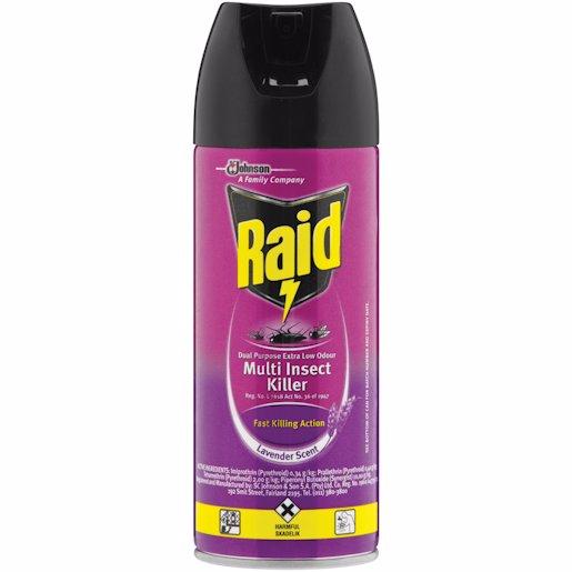 RAID LOW ODOUR 300ML