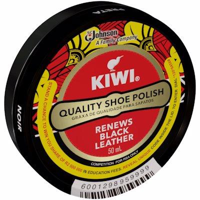 KIWI PASTE S/POLISH BLACK 50ML