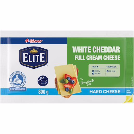 CLOVER CHEDDAR CHEESE WHI 800GR