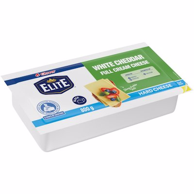 CLOVER WHITE CHEDDAR CHEESE 800G