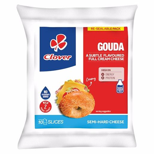 CLOVER GOUDA SLICES 150GR