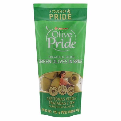 O/PRIDE OLIVES GRN PITTED 120GR