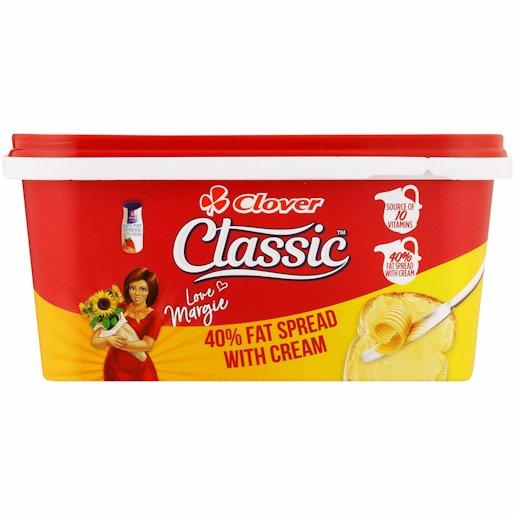 CLASSIC FAT SPREAD TUB40% 500GR