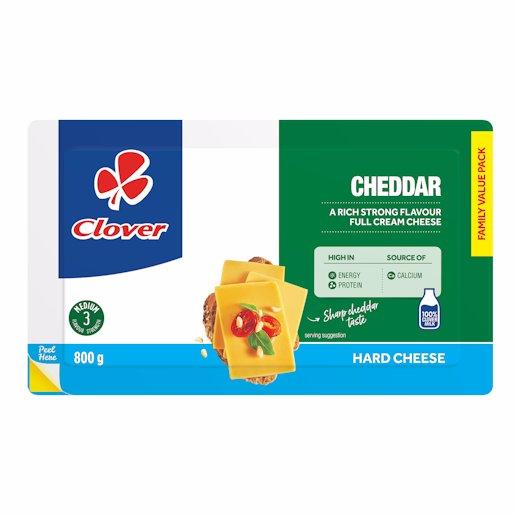 CLOVER CHEESE CHEDDAR 800GR