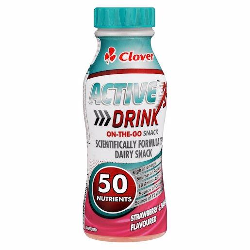 CLOVER SMART DRNK STR&BAN 250ML