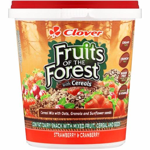 F/FOREST YOG STRAW CRANB 1KG