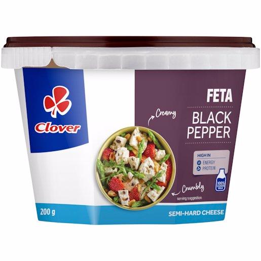 CLOVER FETA CHSE B/PEPPER 200G